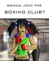 Wanna join the boxing club? by Heartless199