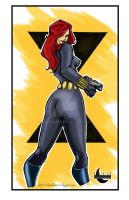 Black Widow Print by IanDWalker