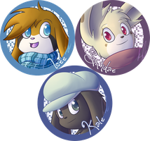 SE - Badge Batch 01 by Lugidog