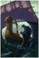 Voyage of the Dawn Treader by artgeektopia