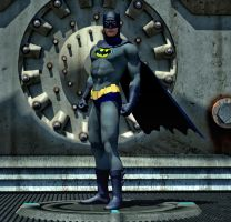 Batman 2nd skin textures for M4 by hiram67