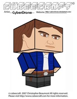 Cubeecraft - Han Solo 'Empire Strikes Back' by CyberDrone