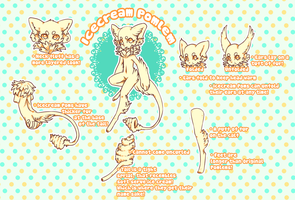 Icecream Pomlem ref sheet! by Gebakje