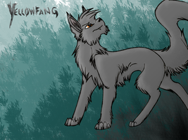Yellowfang by Darkforestwarrior