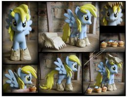 Trade - Nightmare Night Derpy Custom by Nazegoreng