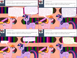 Ask Twilight and Copycat #23 by Kendell2