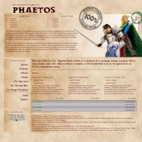 RPG site design by Transbot9