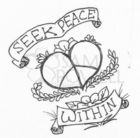 Seek Peace Within by sampdesigns