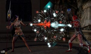 Mage Battle by Athenion