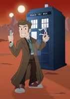 Doctor Who - 10 by happymonkeyshoes