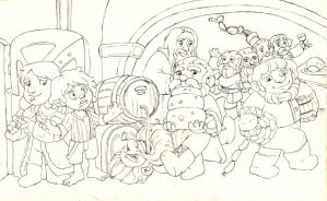 Hobbit by Gigei