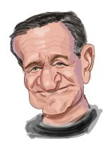 Robin Williams by Derveniotis