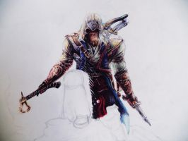ASSASIN's Creed 3 (part 1 (color pens)) by ShizuneRu