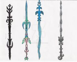 Elemental Swords by MadMother88