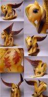 Fanciful Fall pegasus pony by Woosie