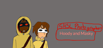 Hoody and Masky: SHSL Photographers by Funkycat206