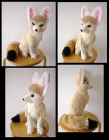 Playboy Bunny Eared Fennec Fox by SarityCreations