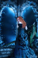 the Dragon of lullaby of death by vickyunderground83