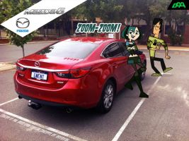 Managing Perth in a Mazda6 by daanton