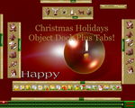 Christmas Holidays OD Tabs by TNBrat