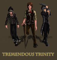 Commission - Tremendous Trinity by HensenFM