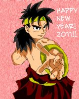Broly 2011 by ZRandomAnimations