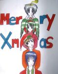 DGM Christmas Totem pole by SheikahLover