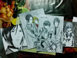 Black Butler Drawings by amazinglife2011