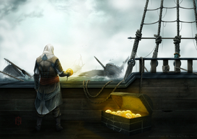 Assassin's Creed IV - Fan Art by F-B-S-Augusto