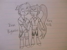 Keru and Zen~ ^^ by Ask-Spice-Neru