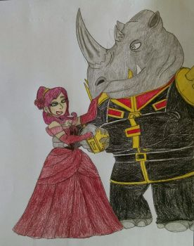 Beauty and the Beast by AnimatedTigerGirl