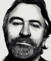 Robert De Niro by Rick-Kills-Pencils