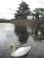 Mastumoto Castle by JeanneABeck