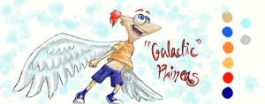 Galactic Phineas by TiaPunky