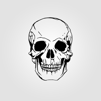 Skull by realbigplans