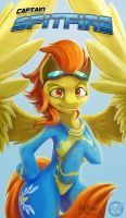 Captain Spitfire by Kraden