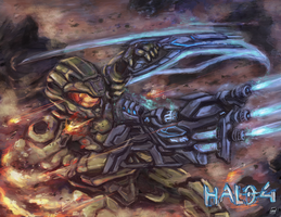 Halo-Guts to Glory by bulletproofturtleman