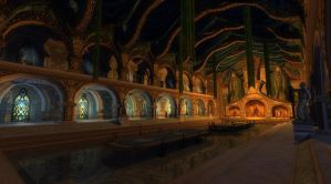 The Hall of Fire by LotROLaurelin
