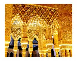Lost in Golden Alhambra I by Just-Cara