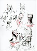 Batman Beyond Design Sketches by fjagcars