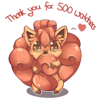 500 watchers - Thank you! by cloudylicious