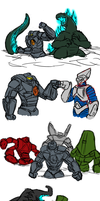 Post Pacific Rim Doodles by BlakerOats