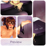 NSFW Commission: Glynda and Aero (PREVIEW) by manu-chann
