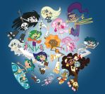 Group Portrait by fyre-flye