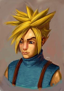 My version of Cloud Strife by RockinAiki