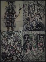 Pages from my sketch book, borderline fantasy. by K1ttenCraft