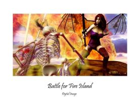 Battle for Fire Island by montalvo-mike