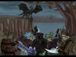 Monster Hunter 2 by AsellusKamijo