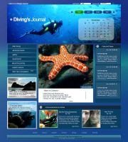 Diving's Journal by in4 by webgraphix