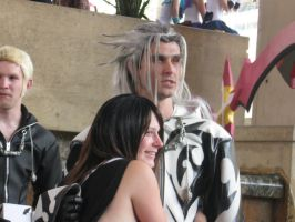 Otakon 09 Kairi and xemnas by Firetsuki18